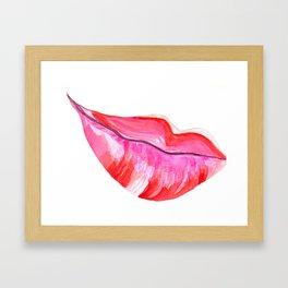 Kiss Me Again Framed Art Print