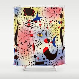 Joan Mirò Pattern #1 Shower Curtain