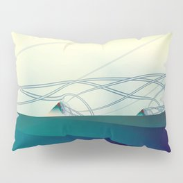 A Day of Sail Boat Racing Pillow Sham