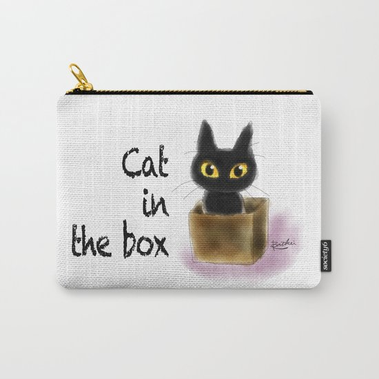 Cat in the box Carry-All Pouch