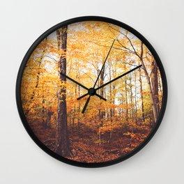Kane Mountain Forrest Wall Clock