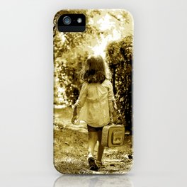 Angel of Hope & Lily Gold iPhone Case