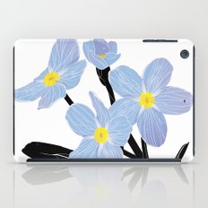 'I think of you Bernie' / Forget-me-not iPad Case