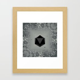 City Intruder Framed Art Print