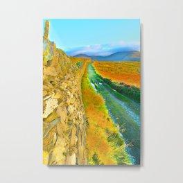 Mountain Walk. Metal Print