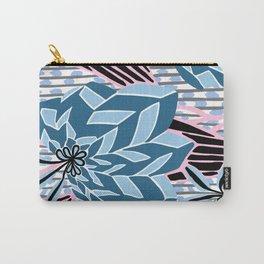 BAYAMO: BOLERO BLUES, Art Deco Tropical Carry-All Pouch