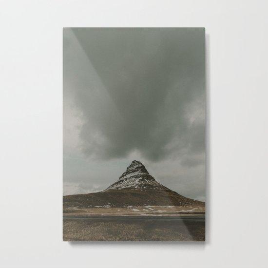 Iceland Kirkjufell Mountain Metal Print