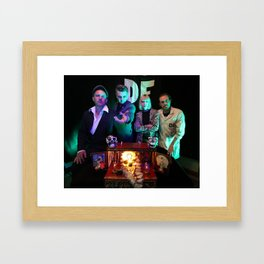 Das Fenster & the Alibis Band Photo Framed Art Print