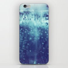 Blue and purple bubble clouds iPhone & iPod Skin