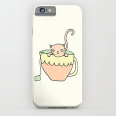 Tea Cup Kitty iPhone 6s Slim Case