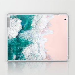 Pink Sand Beach Laptop & iPad Skin