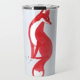 Very Red Travel Mug
