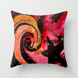 Star Flare Throw Pillow