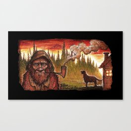 Old Grundle Frumptin Canvas Print
