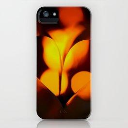 Beautiful Evening in Autumn - Heart Shape with Bokeh Light #decor #society6 #buyart iPhone Case
