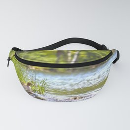 By The Lake - summer scene Fanny Pack