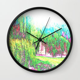 Willows Wall Clock