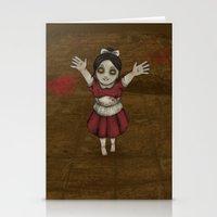 bioshock Stationery Cards featuring Little sister - Bioshock by Shepaki