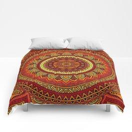 Hippie mandala 85 Comforters