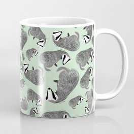Badger pattern Coffee Mug