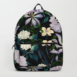 Exotic garden paradise night Backpack