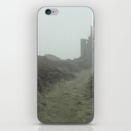 Higher Ball mine in the mist iPhone Skin