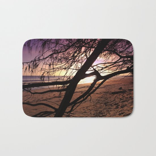 Early morning beach walks are filled with treasures Bath Mat
