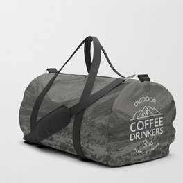 Outdoor Coffee Drinkers Club Duffle Bag