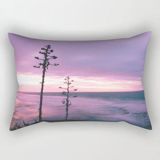 Winter Skies Rectangular Pillow
