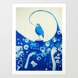 Cvrkut bijesnila (see Google for details) Art Print