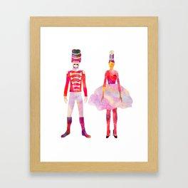 Nutcracker Ballet Framed Art Print