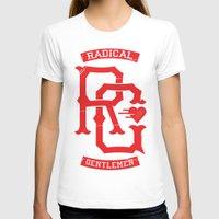 monogram T-shirts featuring Monogram! by Radical Gentlemen