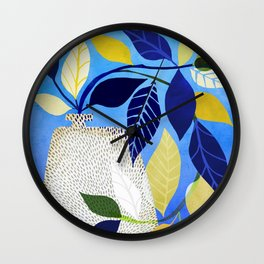 Express Yourself - Whimsical Ivy Houseplant Wall Clock
