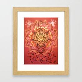 Fairy Star / Haldjatäht Framed Art Print