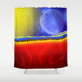 Our Earth Shower Curtain