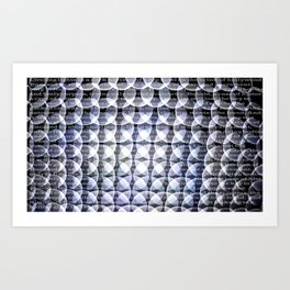 Superimposition part 1. Art Print