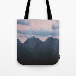 Evening vibes - Landscape and Nature Photography Tote Bag