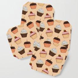 Cupcake Pattern Coaster