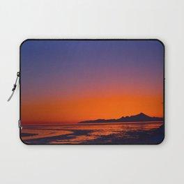 Mt. Iliamna Sunset Laptop Sleeve