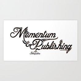 Momentum Publishing Art Print