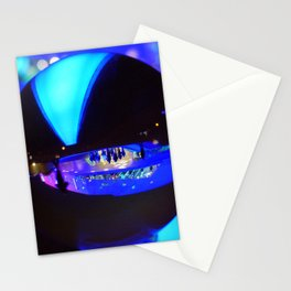 Through the crystal ball / Glass Ball Photography Stationery Cards