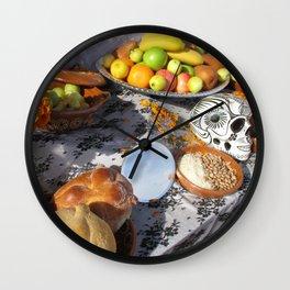 La Comida Wall Clock