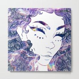 Abigail (Water Print)  Metal Print