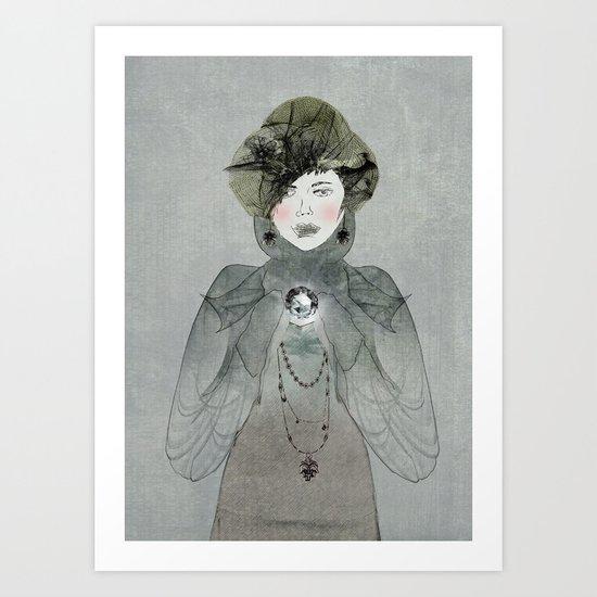 I have a secret Art Print