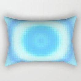 Ripple V Pixelated Rectangular Pillow
