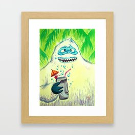 Bumbles in the Mix Framed Art Print