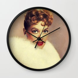 Janis Paige, Vintage Actress Wall Clock