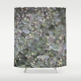 Bee Work Shower Curtain