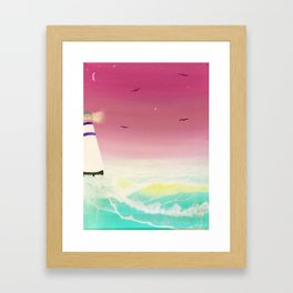 Vibrant Sea Framed Art Print