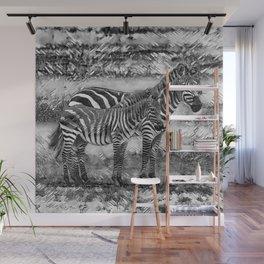 AnimalArtBW_Zebra_20170716_by_JAMColorsSpecial Wall Mural
